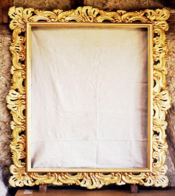 cadre baroque ajour dor cadres baroque l 39 ornemaniste. Black Bedroom Furniture Sets. Home Design Ideas